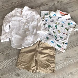 Other - Boys shirts and shorts